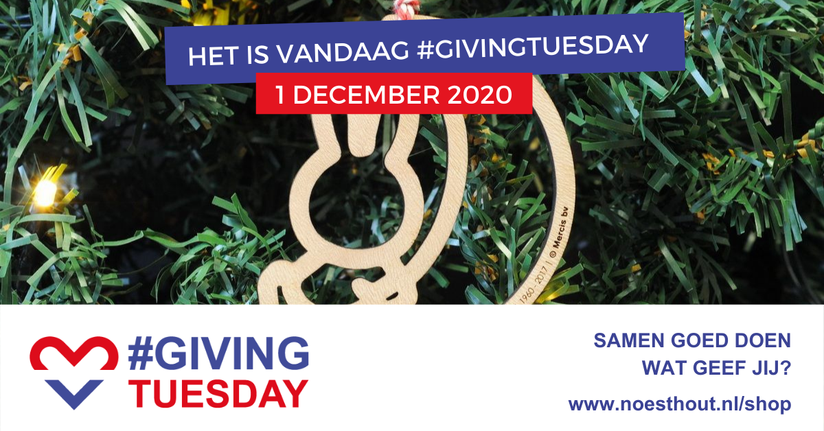 Wat geef jij op Giving #Tuesday?
